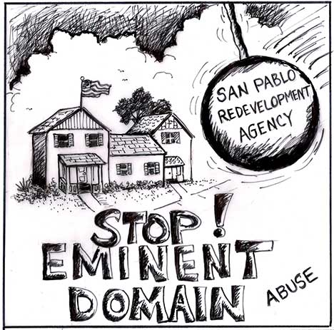 Stop! Eminent Domain